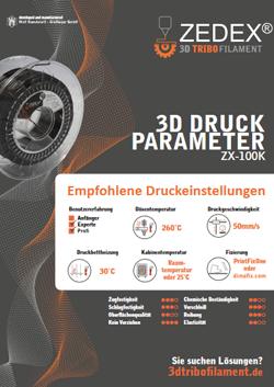 Druckparameter - ZX-100K
